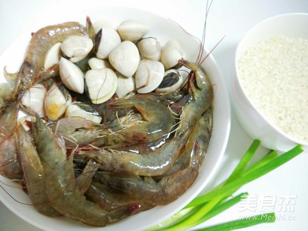 蛤蜊明虾粥的做法大全