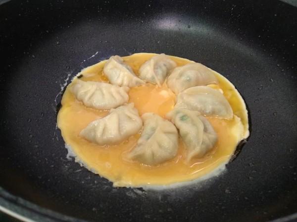 抱蛋煎饺的步骤