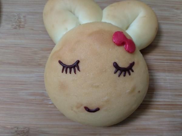 小兔子面包的步骤