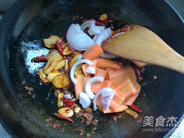 鲜香麻辣章鱼足怎么煮