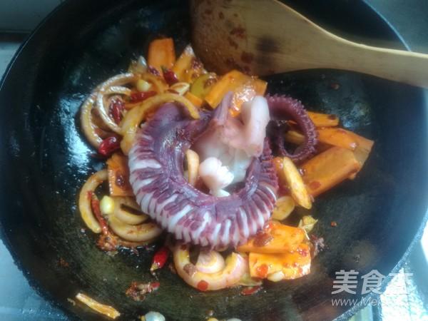 鲜香麻辣章鱼足怎么炖