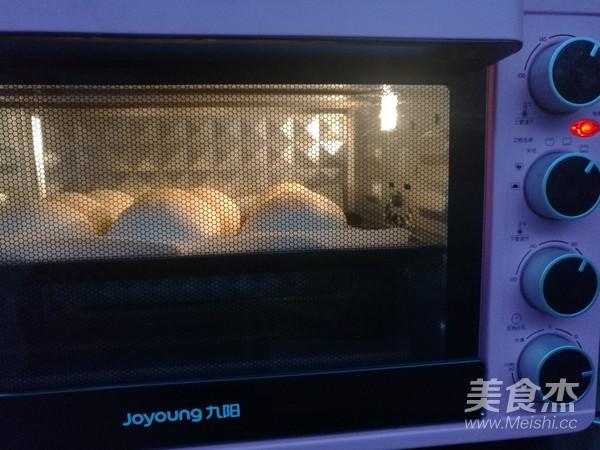 菜籽油奶黄馅小餐包的制作