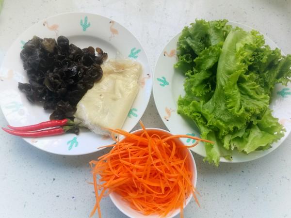 生菜拌豆皮的做法大全