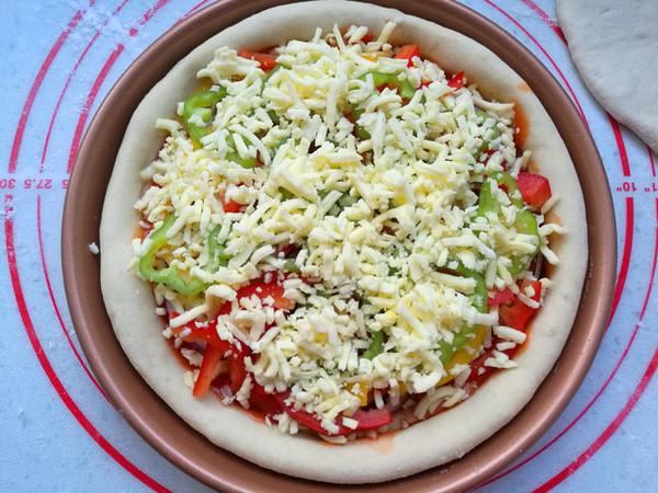蔬菜披萨怎么煮
