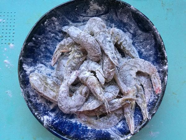 椒盐大虾的简单做法
