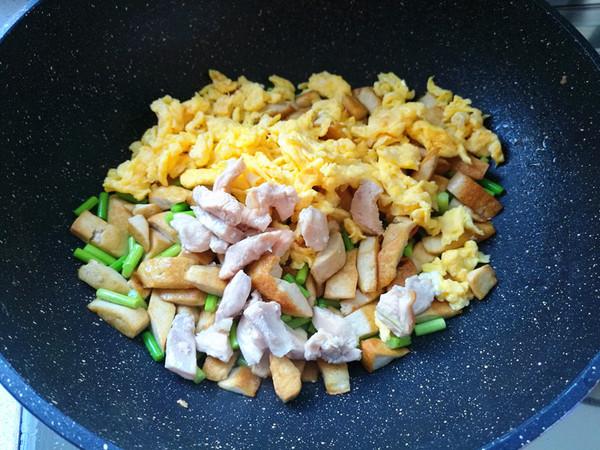鸡刨豆腐怎么炒