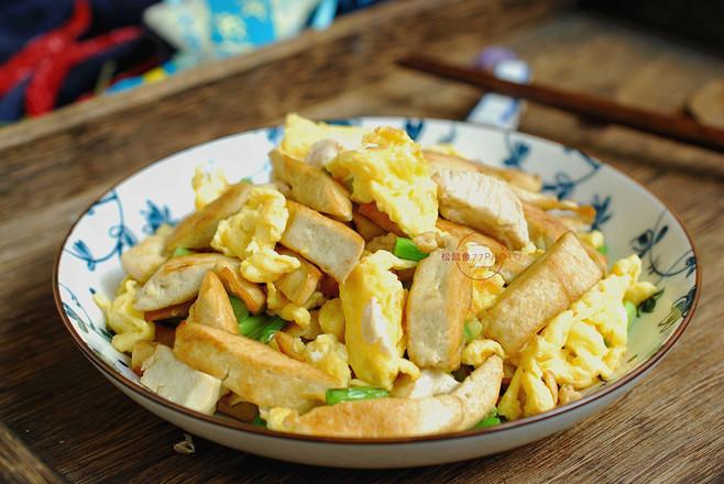 鸡刨豆腐怎么煮