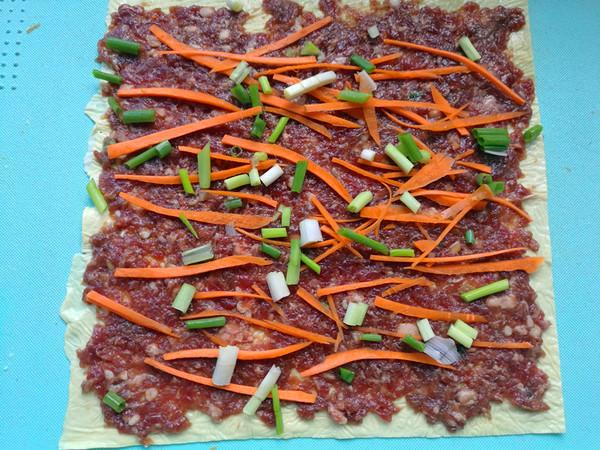 豆皮牛肉卷的简单做法