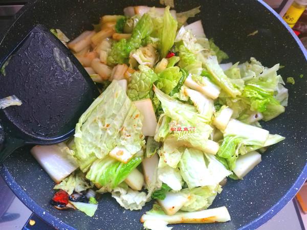 砂锅白菜炖粉条的简单做法