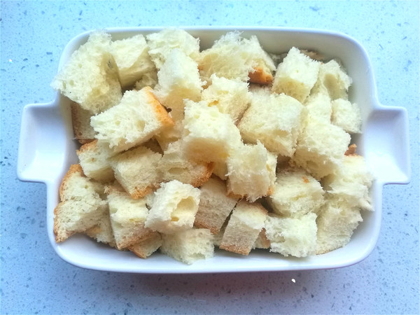 酸奶面包布丁的做法图解