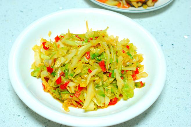 剁椒洋白菜怎么吃