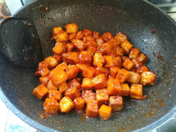 番茄脆皮豆腐的步骤