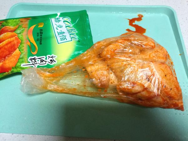奥尔良烤鸡翅的做法图解