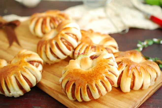 豆沙圈面包怎么煮