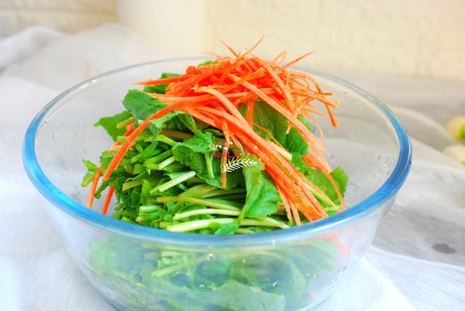 萝卜叶子蒸苦累的简单做法