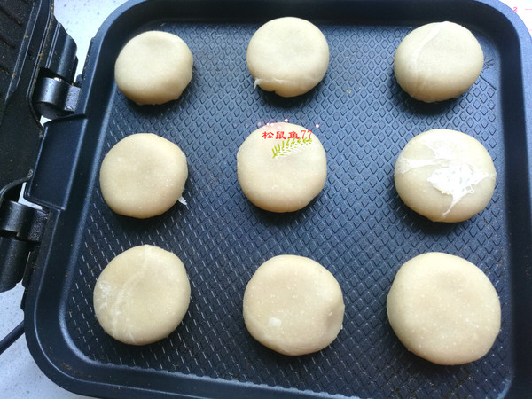 电饼铛绿豆饼怎么煮