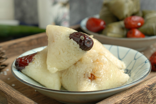 传统大红枣粽子怎样煸