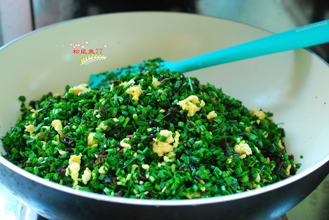 韭菜鸡蛋麦穗包怎么吃