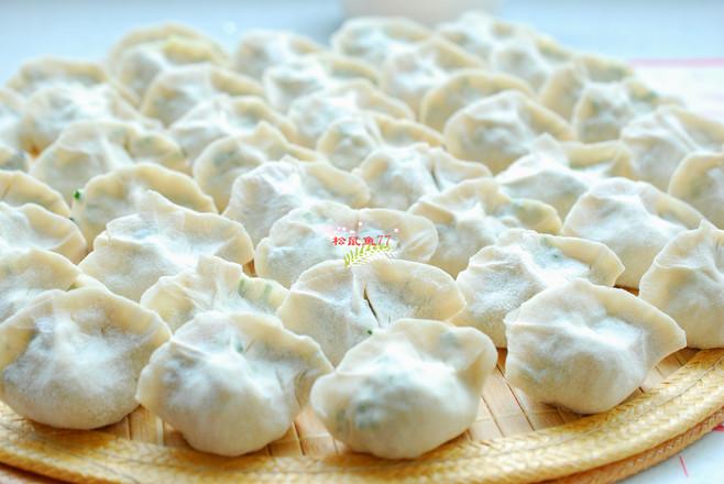 韭菜鸡蛋素饺子怎么煮