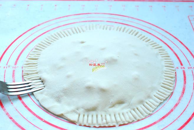 电饼铛版网红榴莲饼的步骤