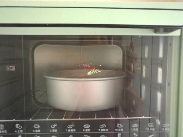 8寸戚风蛋糕怎么炖