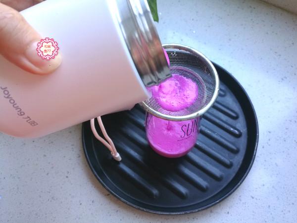 火龙果酸奶饮怎么炒