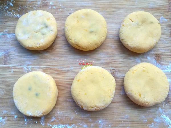 红薯蜜豆饼怎么做