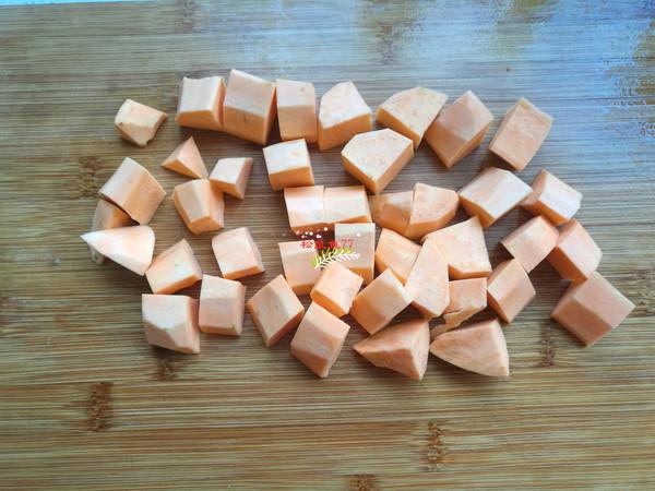 红薯杂粮米饭的做法图解