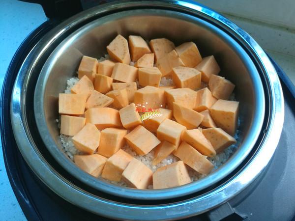 红薯杂粮米饭的简单做法