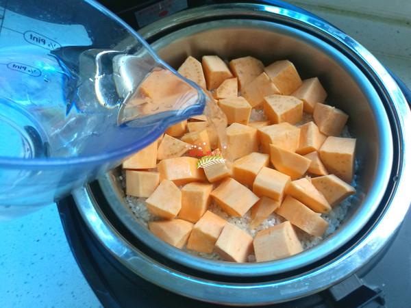 红薯杂粮米饭怎么吃