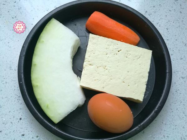 冬蓉豆腐鸡蛋羹的做法大全