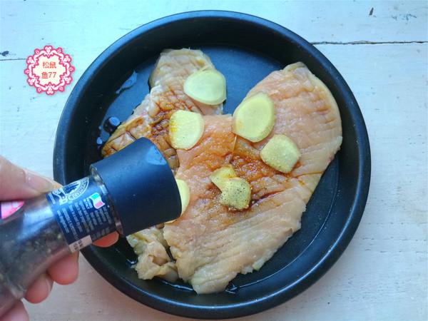 香煎柠檬鸡排的做法图解