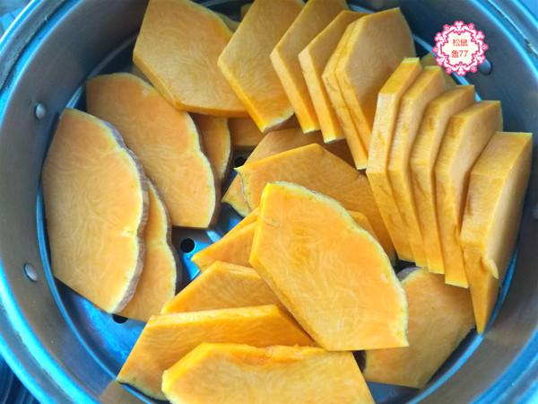 南瓜豆沙包的做法图解