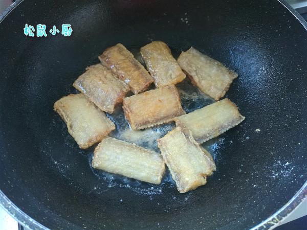 糖醋带鱼的步骤