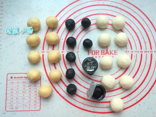 黑芝麻酥饼的家常做法