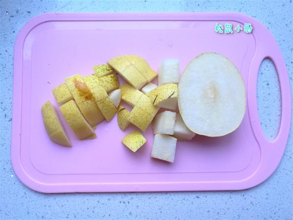 菊花冰糖煮梨水的做法图解