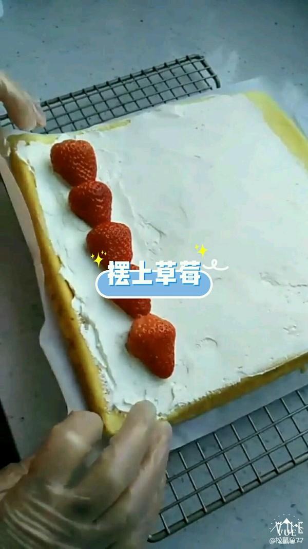 草莓蛋糕卷怎么炖