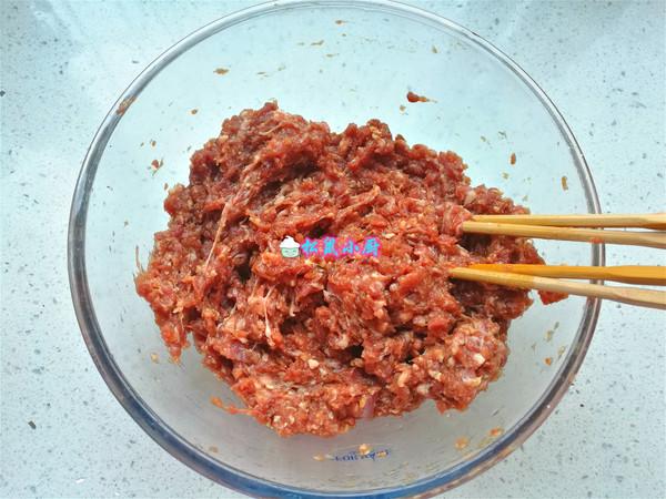 牛肉丸子的简单做法