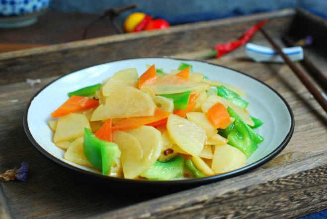青椒土豆片怎么煮