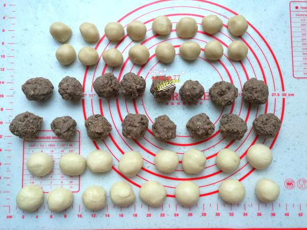 香酥绿豆饼(平底锅版)的做法图解