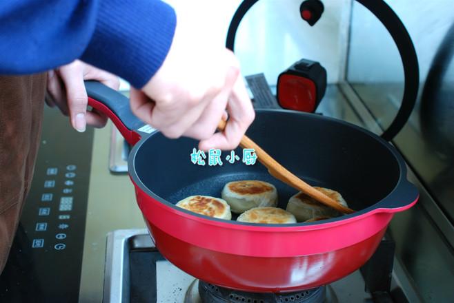 香酥绿豆饼(平底锅版)怎么煮