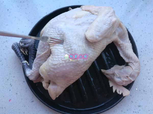 电饭煲焖鸡的步骤