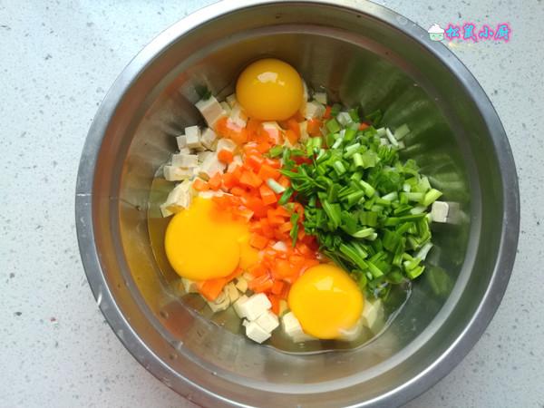 鸡蛋炒豆腐的做法图解