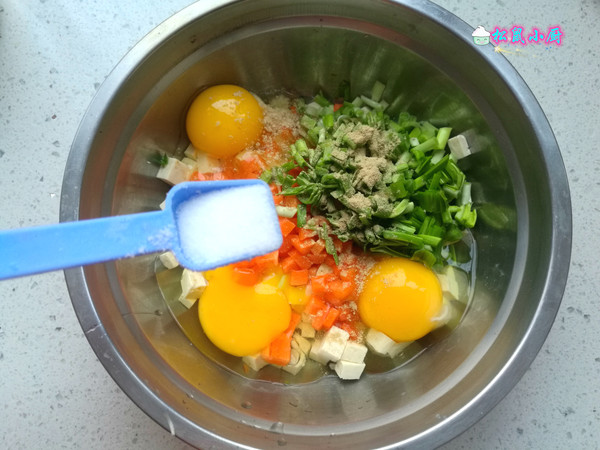 鸡蛋炒豆腐的家常做法