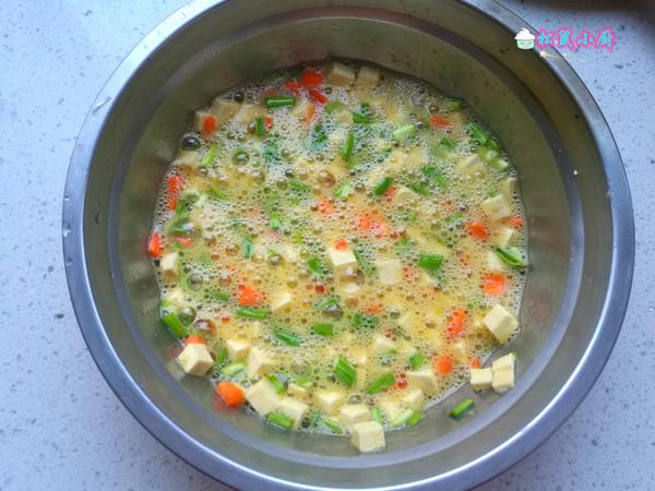 鸡蛋炒豆腐的简单做法