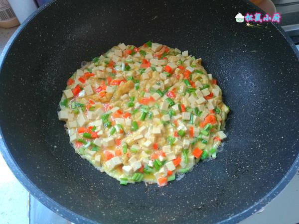 鸡蛋炒豆腐怎么做