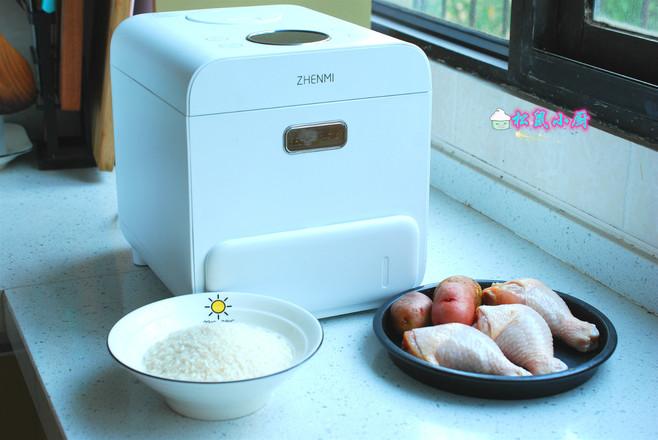 米粉蒸鸡腿的做法大全