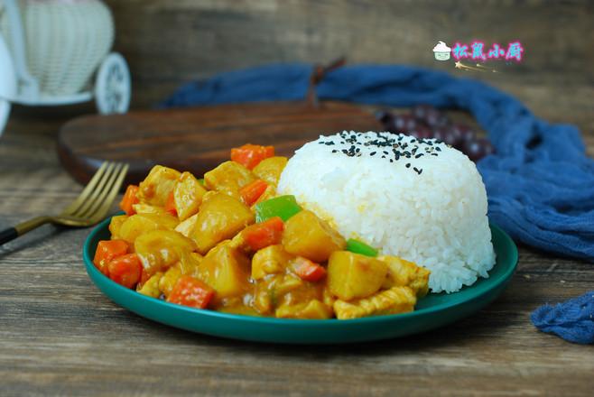 咖喱牛肉饭怎样煮