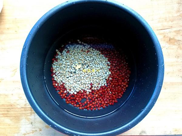 南瓜薏米红豆汤的简单做法