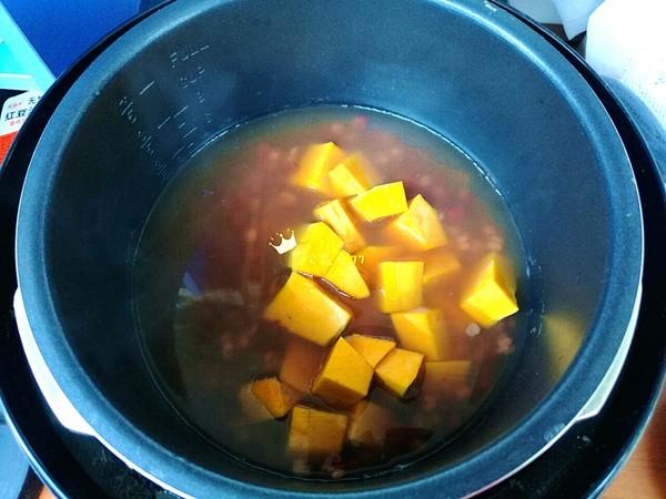 南瓜薏米红豆汤怎么炒